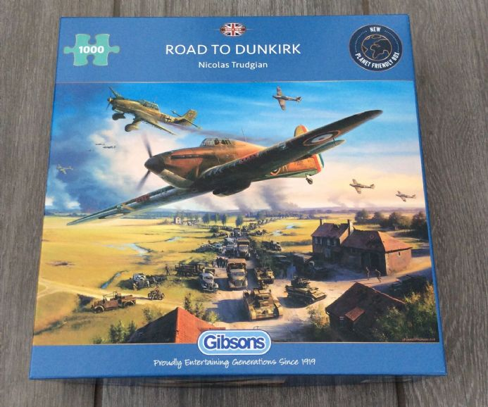 Road To Dunkirk 1000 Piece Jigsaw Puzzle